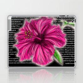 Lettre a une flamme 2.0 Laptop & iPad Skin