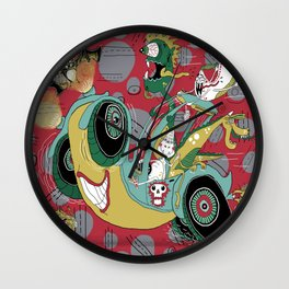 get in the car, we're goin' for a ride! Wall Clock