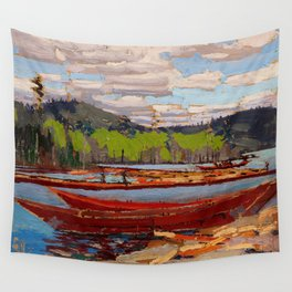 Tom Thomson - Boat Wall Tapestry