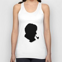 sherlock holmes Tank Tops featuring Sherlock Holmes by thescudders