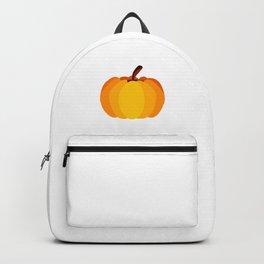 Orange Pumpkin Backpack
