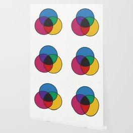 Matthew Luckiesh: The Subtractive Method of Mixing Colors (1921), re-make, interpretation Wallpaper