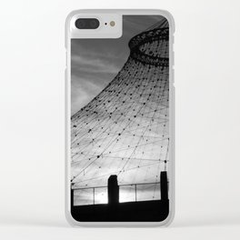 Unknown Spaces Whirled Clear iPhone Case