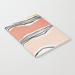 Modern irregular Stripes 01 Notebook