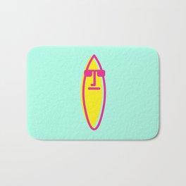 Surf board dude Bath Mat