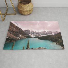Moraine Lake Banff National Park Rug