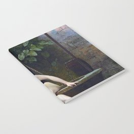 TRUTH COMING OUT OF HER WELL TO SHAME MANKIND - JEAN-LEON GEROME Notebook