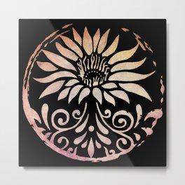 Lotus of Life Metal Print