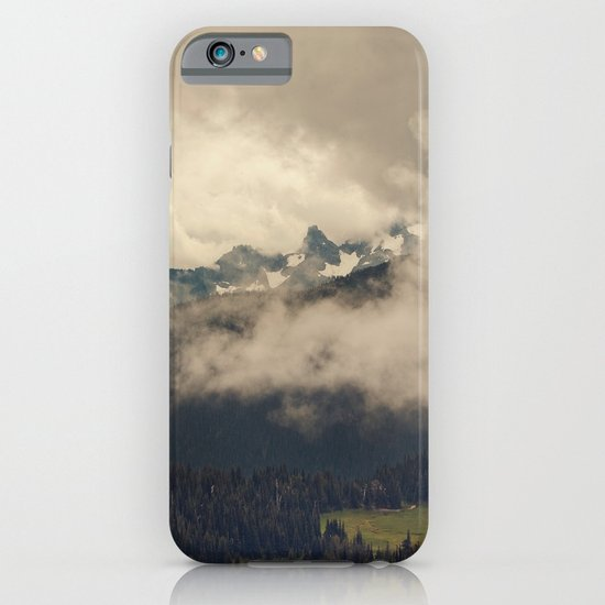 Mountains through the Fog iPhone & iPod Case