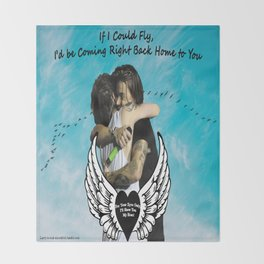 Larry Stylinson- If I Could Fly Throw Blanket