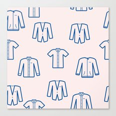 Pastel Shirts Canvas Print