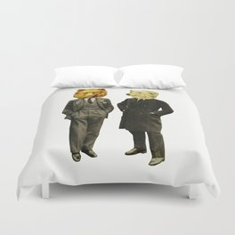 The Likely Lads Duvet Cover