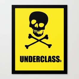 Underclass Canvas Print