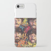 yellow submarine iPhone & iPod Cases featuring Yellow Submarine by somanypossibilities