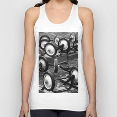 The World Turned Upside Down Unisex Tank Top