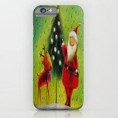 Santa and his Reindeer Slim Case iPhone 6s