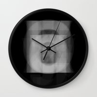 helvetica Wall Clocks featuring Helvetica by onokono