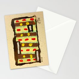Natural Team Leaders Stationery Cards