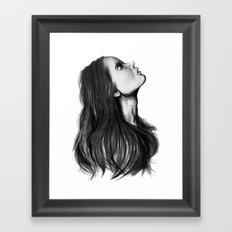 Harmony // Fashion Illustration Framed Art Print