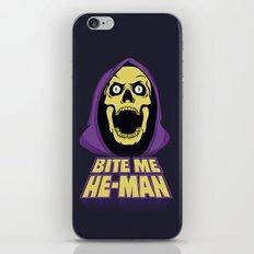 Skeletor - Bite me iPhone Skin