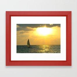 In The Stillness... Framed Art Print