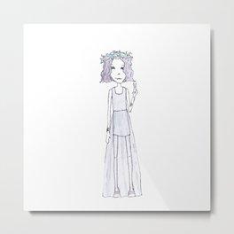 little gypsy Metal Print