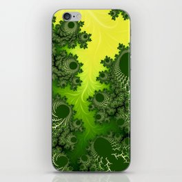 ABSTRACT.BOLTJUNGLE iPhone Skin