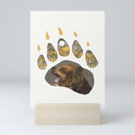 Grizzly Bear Mini Art Print