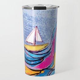 Sailing 3 Travel Mug