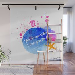 "Percy Jackson Percabeth House of Hades ""I love you too!"" Quote Wall Mural"