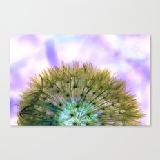 Dandelion Sunrise Canvas Print