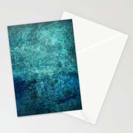 Turquoise Ocean Marble Stationery Cards