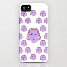 Sylvia iPhone Case
