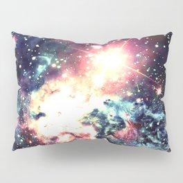 Fox Fur Nebula : Deep Pastels Galaxy Pillow Sham