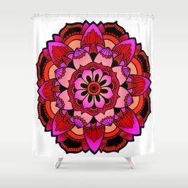 Mandala variant 2 Shower Curtain