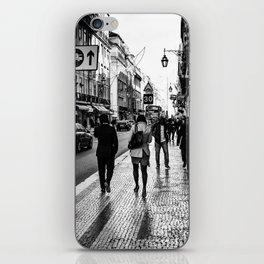 One Way Afternoon (Lisbon) iPhone Skin