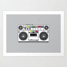 1 kHz #4 Art Print