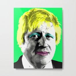 Boris Monroe - Green Metal Print