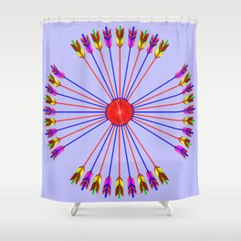 Arrows Design version 2 Shower Curtain