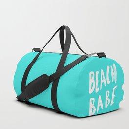 Beach Babe x Teal Duffle Bag