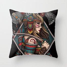 Take Courage Throw Pillow