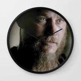 Ragnar's eyes Wall Clock