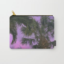 Purple Sky Palms Carry-All Pouch