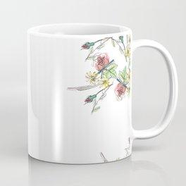 Flower Border Coffee Mug