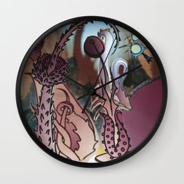 EARTHLY DELIGHTS Wall Clock