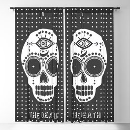 Minimal Tarot Deck The Death Blackout Curtain