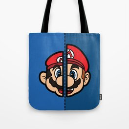 Old & New Mario Tote Bag