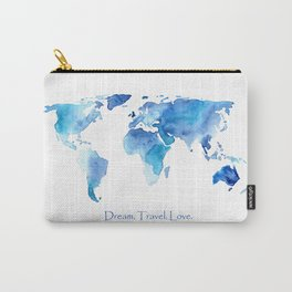 Dream. Travel. Love. Carry-All Pouch