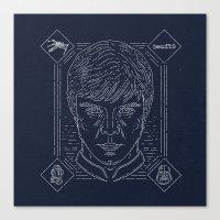 luke hemmings Canvas Prints featuring Luke by Jon Deviny