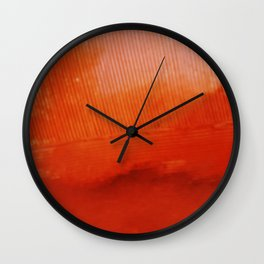 Snapshot Series #4: art through the lens of a disposable camera by Alyssa Hamilton Art Wall Clock